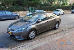 טויוטה קורולה 2017, אוטומט , למכירה-₪80000 רכב יד שניה